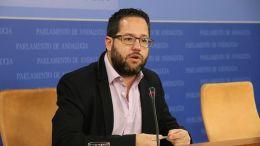 Jose Ignacio García en el Parlamento
