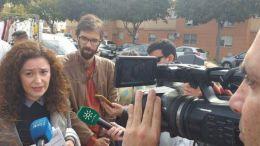 Inmaculada Nieto junto a José Luis Bueno en una imagen de archivo