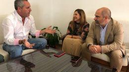 Irene Garcia, Pedro Barroso y Manuel Chacon