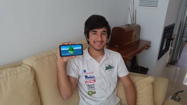 Ramon Picon. campeón juvenil