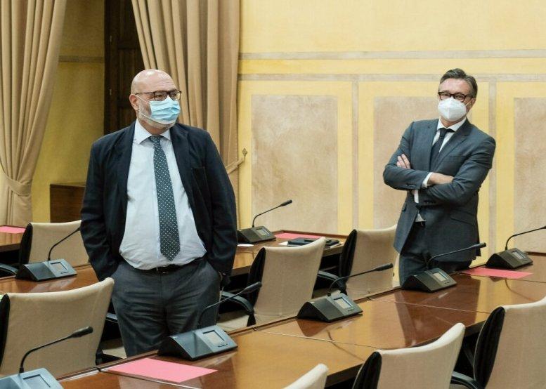 Alejandro Hernández y Manuel Gavira por el Grupo Vox en Andalucía