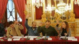 Grupo de Adelante Cádiz en la Diputación de Cádiz