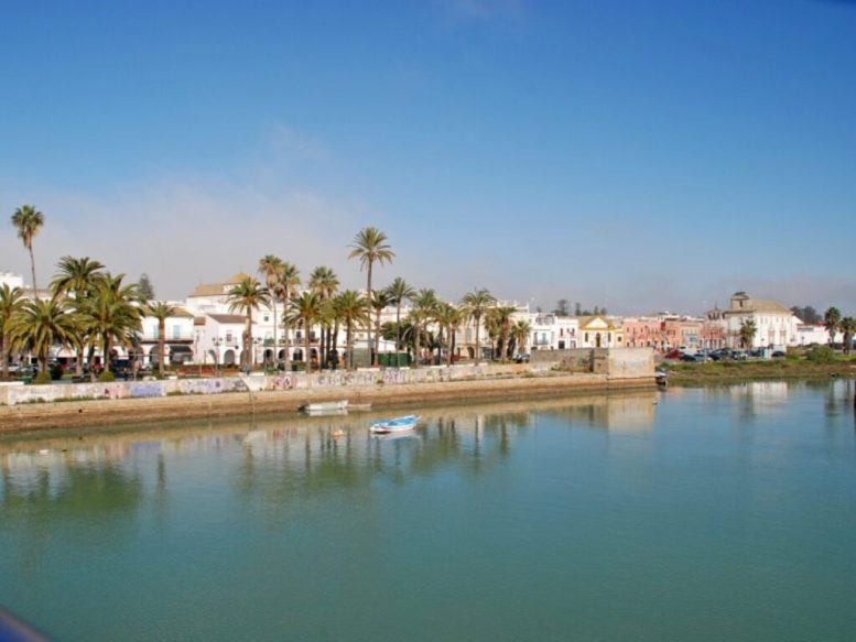 Río Guadalete a su paso por El Puerto de Santa María