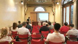 Presentación de la jornada con Miguel Urraca, Secretario General de la Cámara de Comercio de Cádiz
