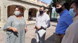 Elena Amaya y Javier Pizarro en El Marquesado