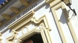 Fachada de la Audiencia de Algeciras
