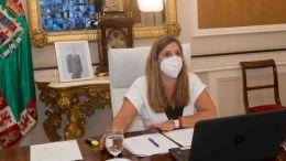 Irene Garcia preside el Pleno de julio de 2021
