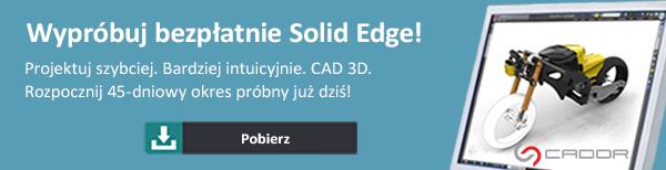 Pobierz wersję demonstracyjną Solid Edge!