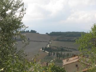 The Road to Monticchiello