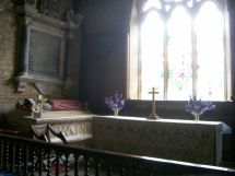 Inside St Eadburgha's Church