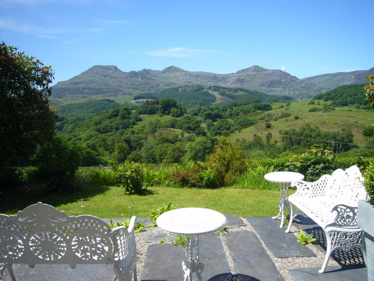 Summer View over the Vale of Ffestiniog