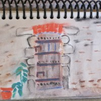 Caerus Artist Sharyn Dimmick: Painting in Villefavard, Paris, and Kensington