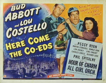 Abbott and Costello - Here Come the Co-Eds
