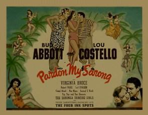 Abbott and Costello - Pardon My Sarong