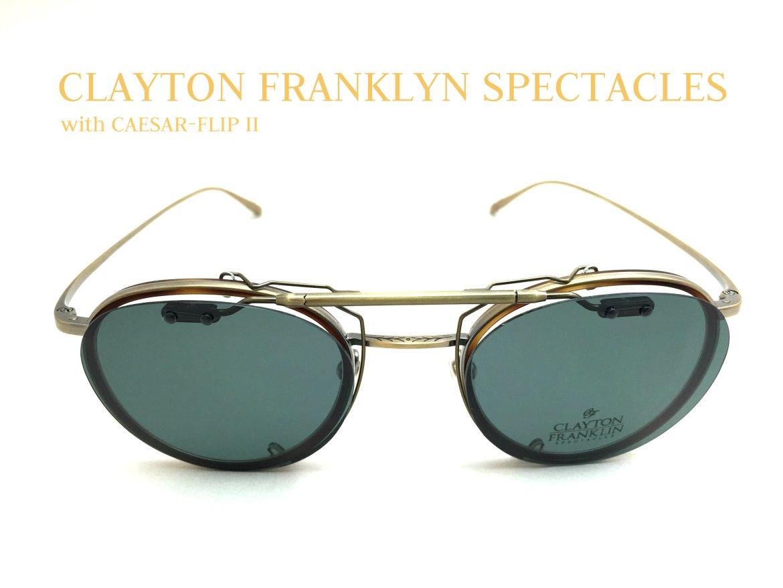 CLAYTON FRANKLYN SPECTACLES_CAESAR FLIP II