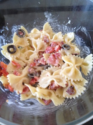BLT Caesar Pasta Salad