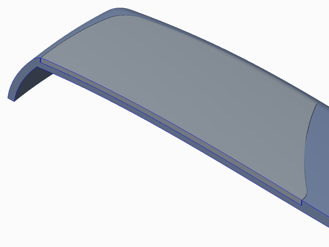 Cross-section of Mobile Phone