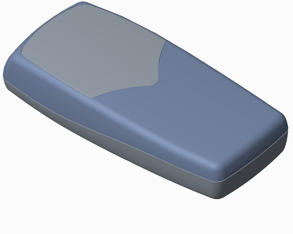 top down design assembly of mobile phone