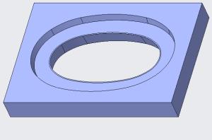 stripper plate using skirt surface