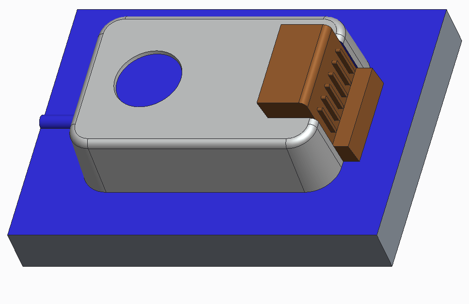 Lifter for forming undercut in plastic part
