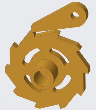 Pawl-ratchet mechanism