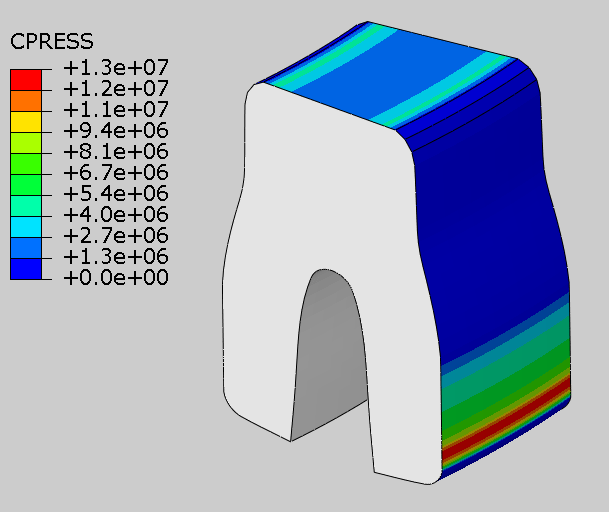 ucup seal contact pressure