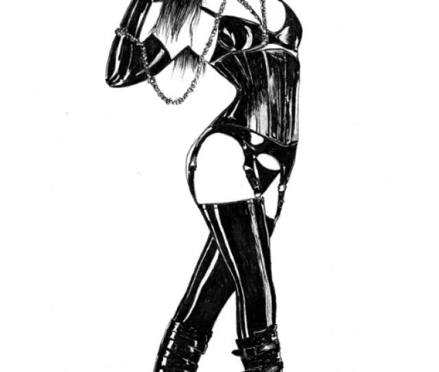 Latex Doll Comic Art