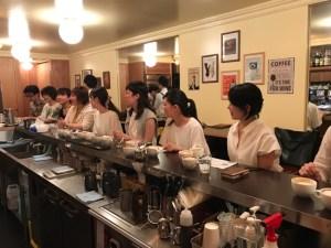 cafe cupola mejiro ラテアート体験講習会1