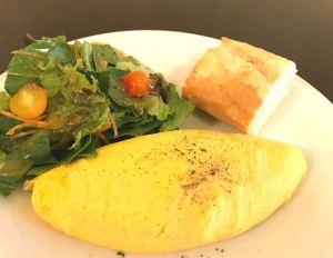 CAFE CUPOLA mejiro Plain Omelette