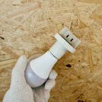 【DIY】コンセントのないトイレでウォシュレットに電源供給