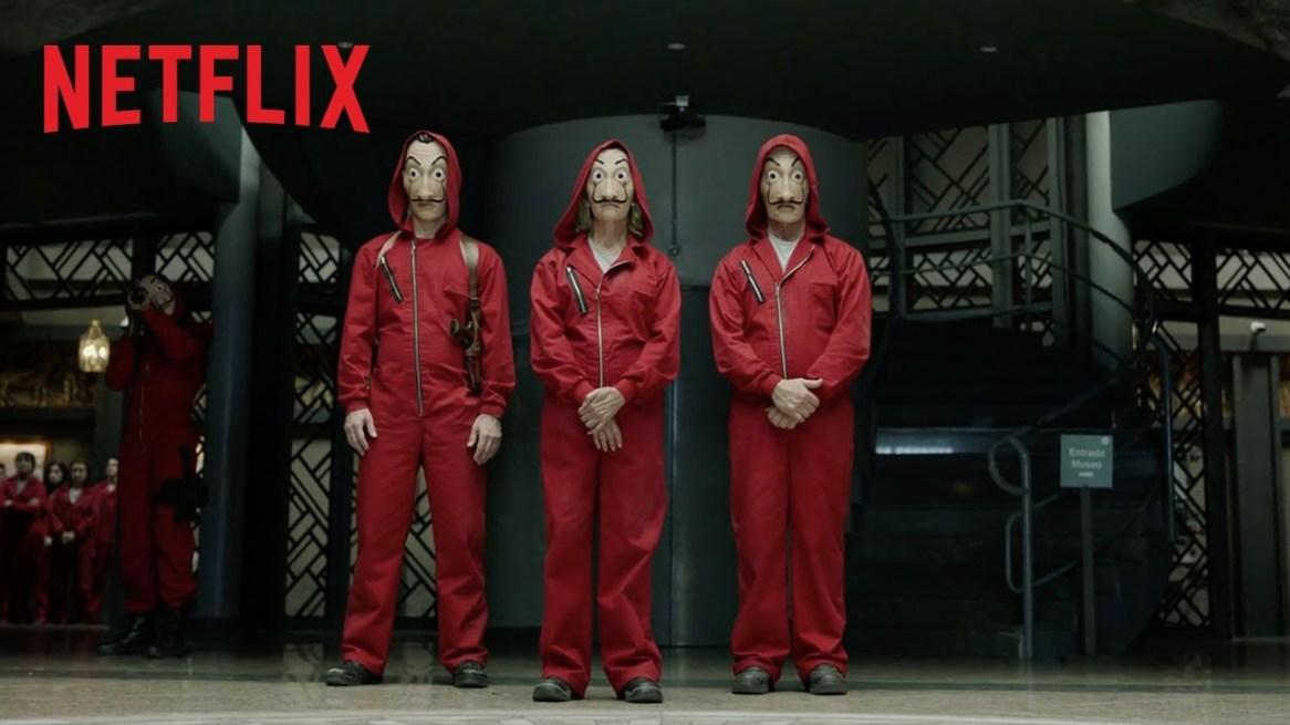 Bande Annonce de La casa de papel saison 2 de Netflix