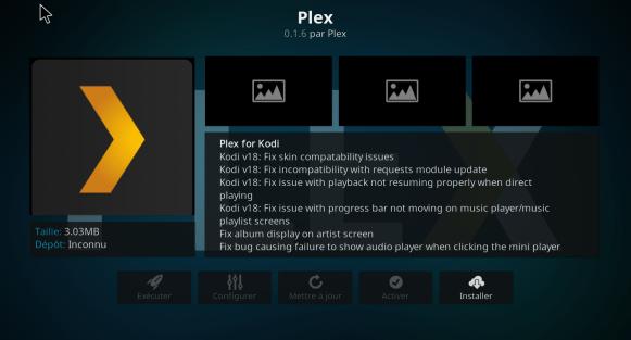 6 Installer Plex