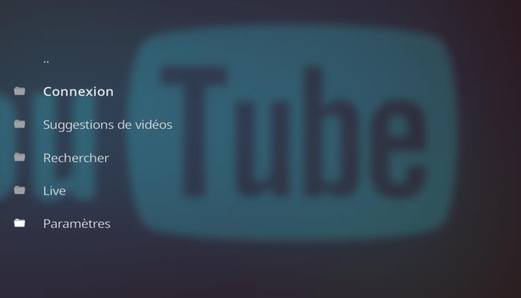 Extension YouTube pour Kodi - YouTubeKodiAddon 3