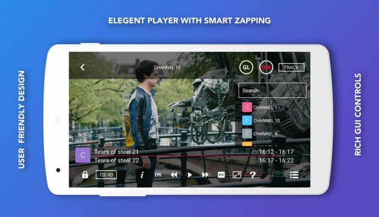 GSE SMART IPTV Android