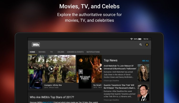IMDb Movies Android