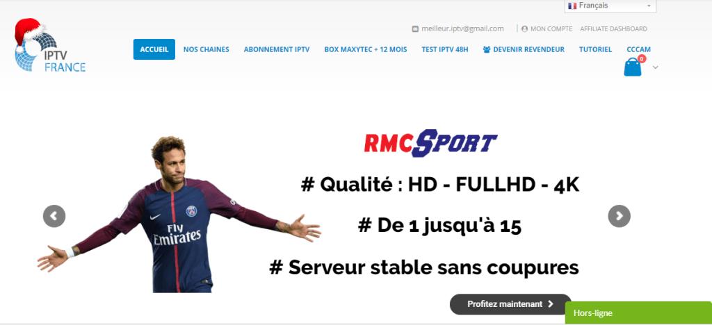 Abonnement IPTV France IPTV