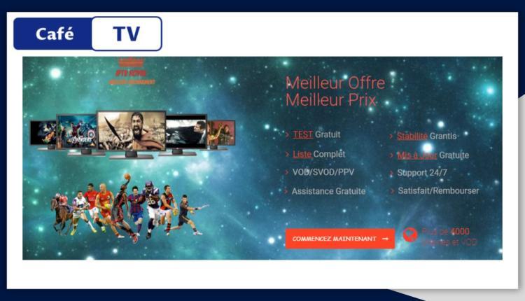 Abonnement IPTV - IPTV Royal