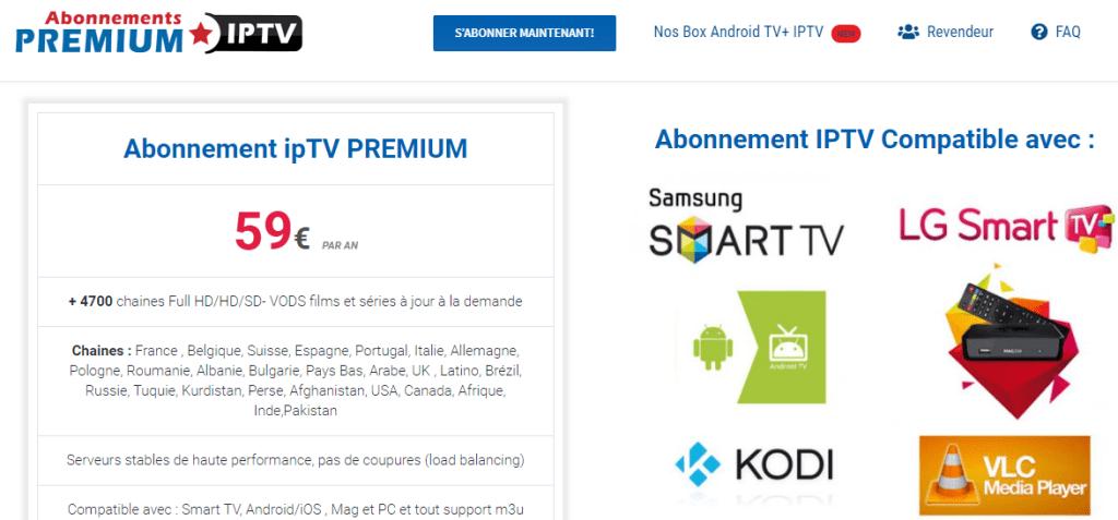 Abonnement IPTV Smart IPTV