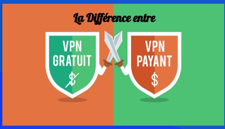 La différence entre un VPN gratuit est un VPN Payant