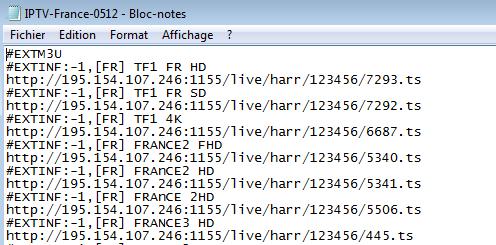 liste liens m3u iptv