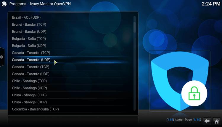 KODI VPN
