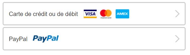 choisir le mode de paiement Netflix