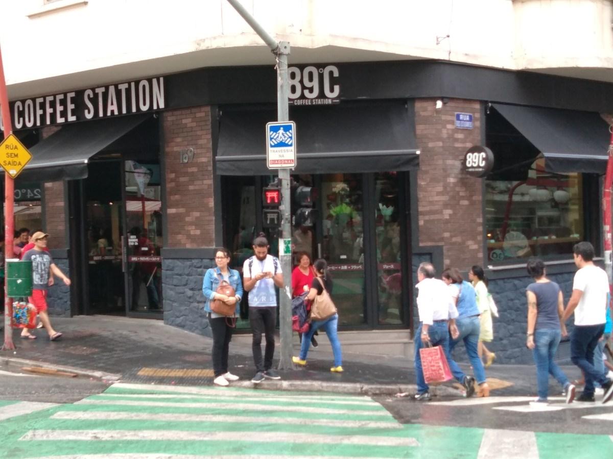 89ºC Coffe Station - Café especial na Liberdade
