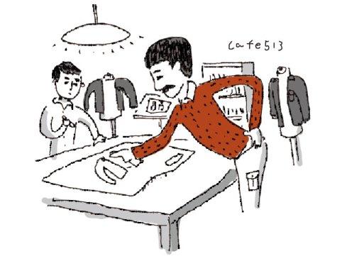 服のデザイナー