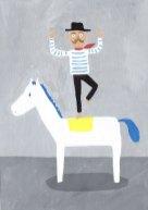 馬乗りおじさん