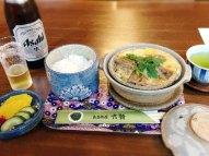 民芸茶屋六騎の柳川鍋