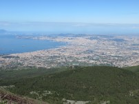 Naples fseen from Vesuvius