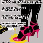 Torna Cafe Jazz: dalle radici blues col Marco Pellegrini Trio alla contemporaneità
