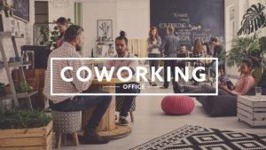 Travail dans espace coworking Freelance