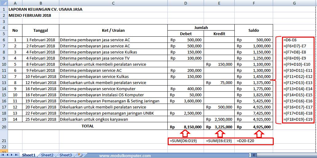 Cara membuat buku keuangan pribadi